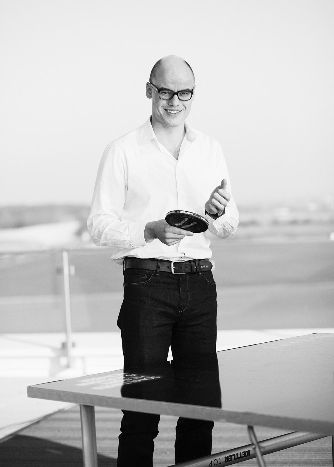Puma CEO Franz Koch –